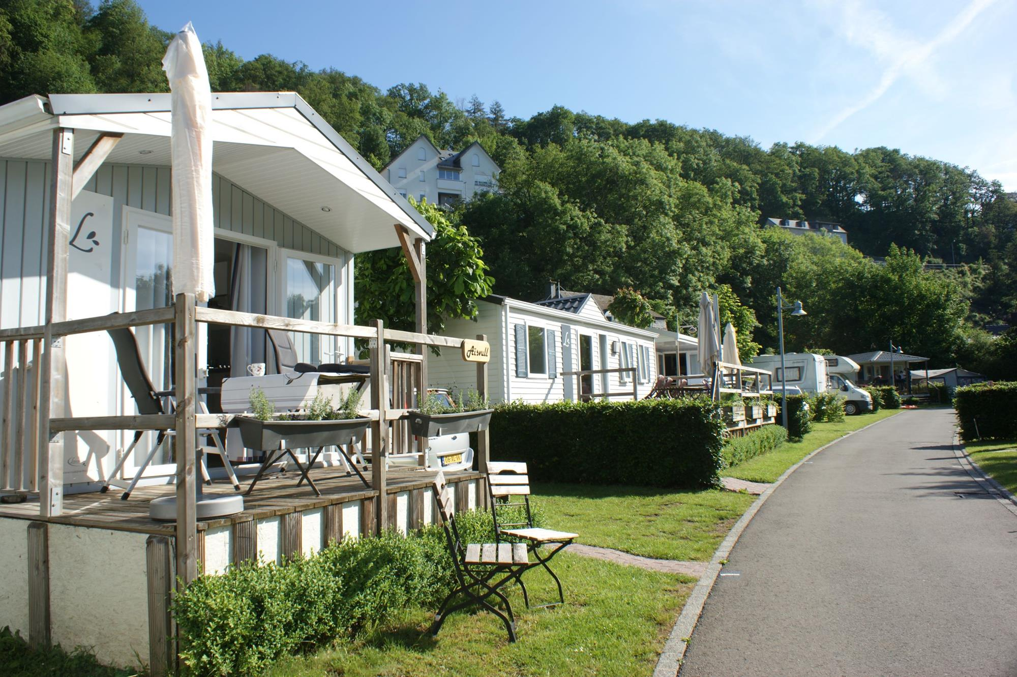 Mobilhome mieten auf dem Camping