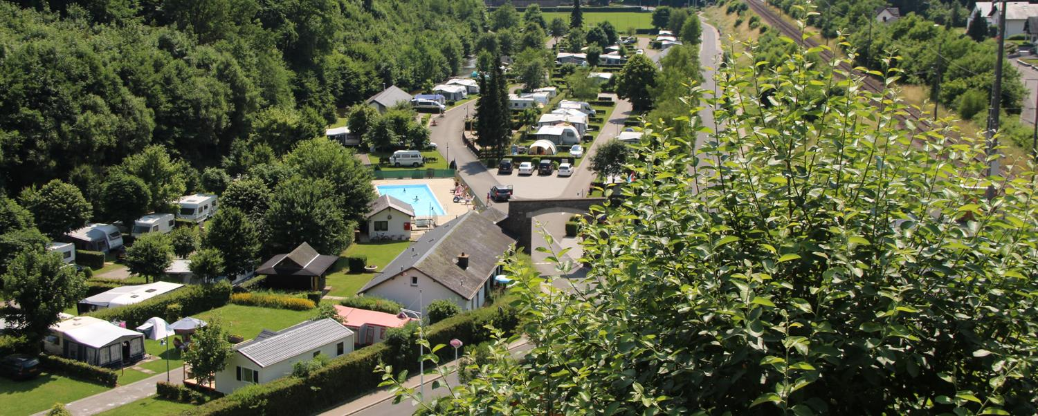 Pure nature on the Camping Clervaux