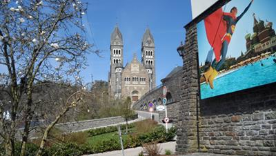 Church Clervaux - Camping Clervaux